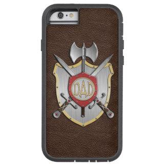 El papá Knights el escudo Brown de la batalla Funda Para iPhone 5C