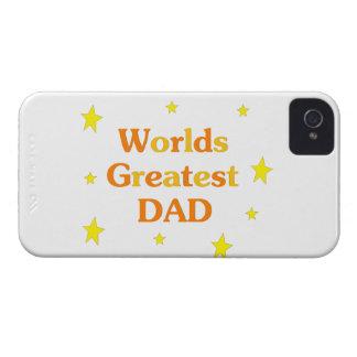 El papá más grande de los mundos iPhone 4 Case-Mate funda
