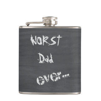 El papá peor nunca petaca