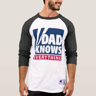 El papá sabe todo camiseta