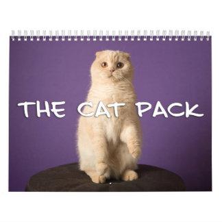 El paquete del gato calendarios de pared