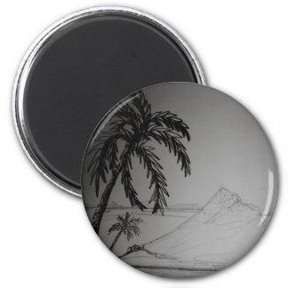 El paraíso soña productos del regalo imán redondo 5 cm