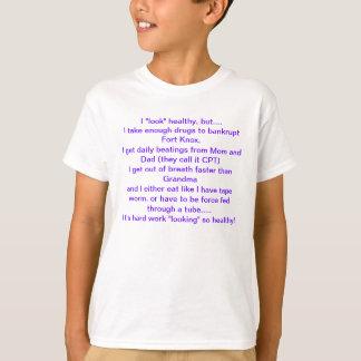 El parecer sano con los CF Camiseta
