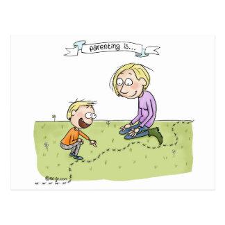 El Parenting… está apreciando el ordinario Postal