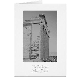 El Parthenon Tarjeta
