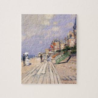 El paseo marítimo en Trouville Claude Monet Puzzle