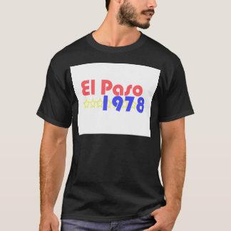 El Paso 1978 Camiseta