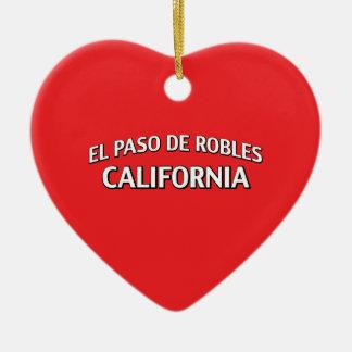 El Paso de Robles California Adorno De Navidad