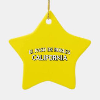 El Paso de Robles California Ornamentos Para Reyes Magos