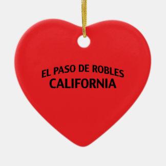 El Paso de Robles California Ornatos