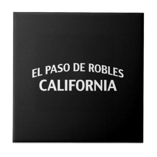 El Paso de Robles California Azulejos Ceramicos