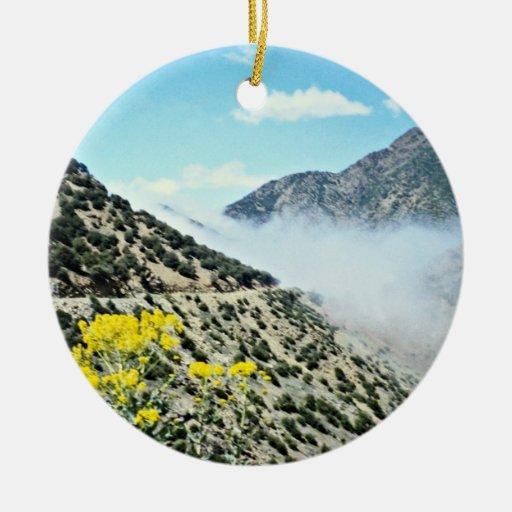 El paso más n'Test de Tizi de la travesía, montaña Ornamente De Reyes