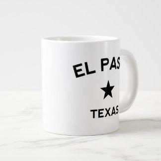 El Paso Tejas Tazas Extra Grande