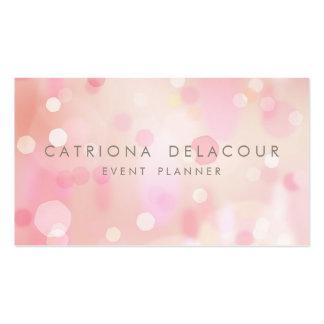 El pastel colorido enciende la tarjeta de visita d