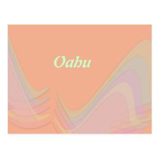 El pastel de Oahu se va volando la postal