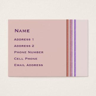 El pastel raya negocio tarjeta de negocios