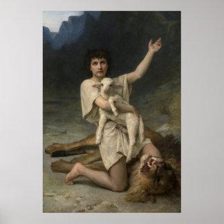 El pastor David triunfante Póster