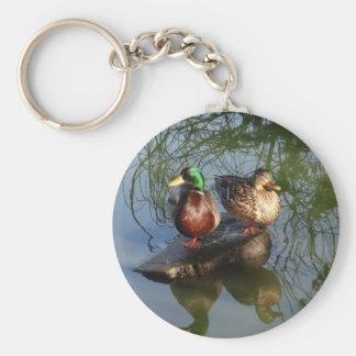 El pato silvestre Ducks el llavero #2