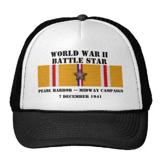 El Pearl Harbor/a mitad de la distancia hace campa Gorro