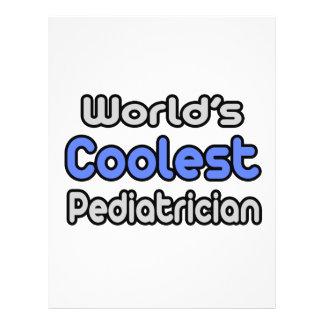 El pediatra más fresco del mundo tarjetas publicitarias
