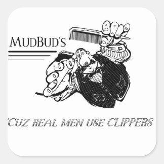 El pegatina de MudBud