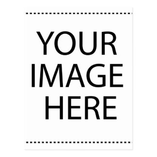 El pegatina redondo del artículo de encargo su postal