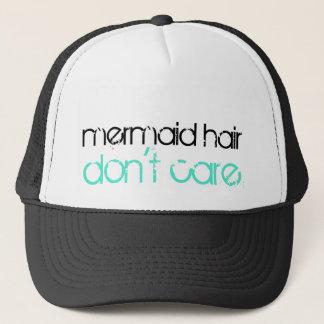 El pelo de la sirena no cuida vacaciones gorra de camionero