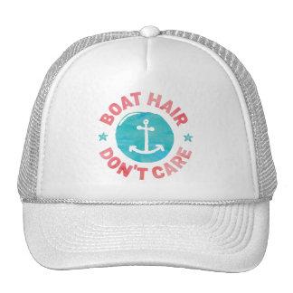 """El """"pelo del barco no cuida """" gorras"""