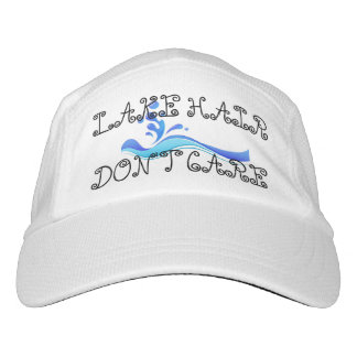 El pelo del lago no cuida el gorra de la moda de