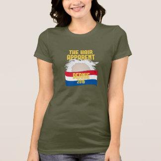 El pelo evidente - Bernie para el presidente 2016 Camiseta
