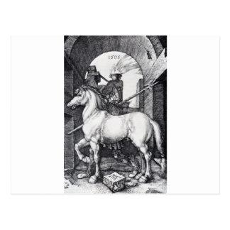 El pequeño caballo de Albrecht Durer Postal