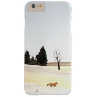 El pequeño caso del iPhone del Fox Funda Barely There iPhone 6 Plus