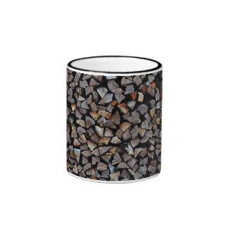 el pequeño granito empiedra la pila taza a dos colores