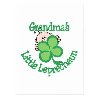 El pequeño Leprechaun de la abuela Postal