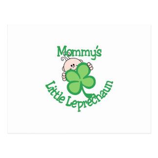 El pequeño Leprechaun de la mamá Postal