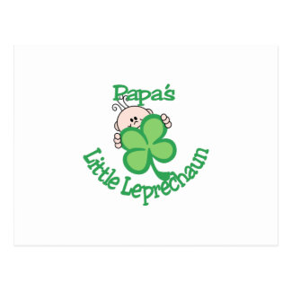 El pequeño Leprechaun de la papá Postal