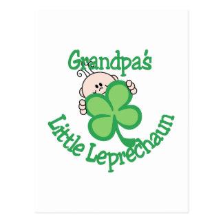 El pequeño Leprechaun del abuelo Postal