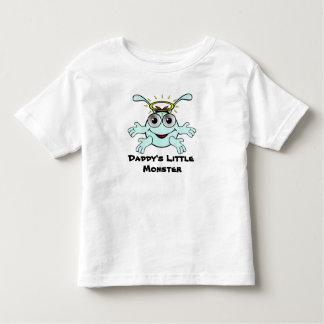 El pequeño monstruo del papá lindo camisetas