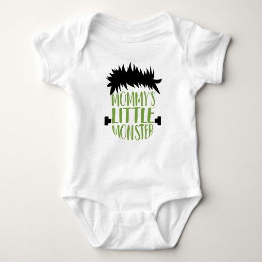 El pequeño monstruo Halloween de la mamá Body Para Bebé