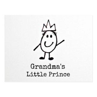 El pequeño príncipe de la abuela postal