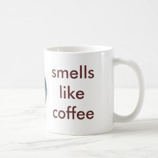 el pequeño sqirrel, olores tiene gusto del café taza de café