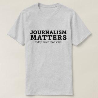 El periodismo importa hoy la camiseta de los