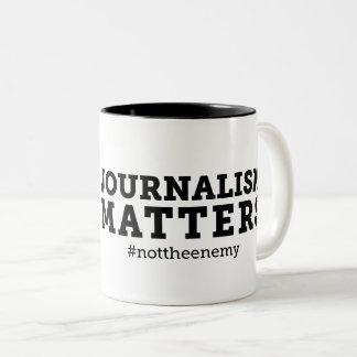 El periodismo importa taza