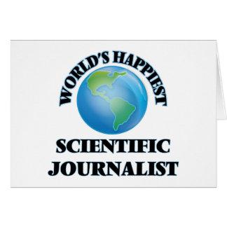 El periodista científico más feliz del mundo tarjeta pequeña