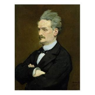El periodista Enrique Rochefort, 1881 Postal