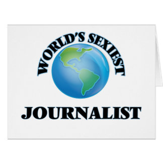 El periodista más atractivo del mundo felicitacion