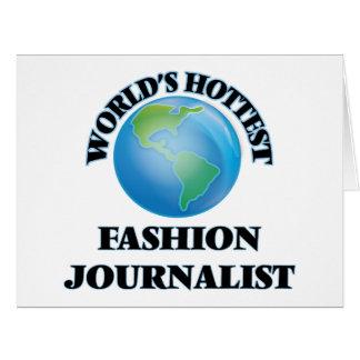 El periodista más caliente de la moda del mundo tarjetón