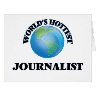 El periodista más caliente del mundo felicitación