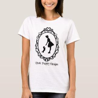 El perrito de Spork diseña el logotipo Camiseta