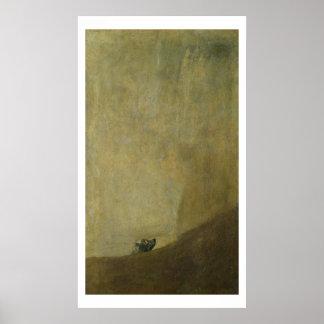 El perro, 1820-23 póster